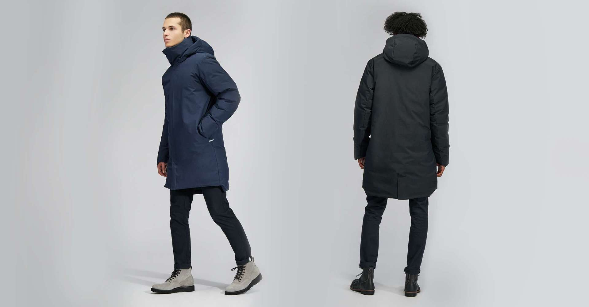 Look Closer: Designing The Men's Outremont Down Parka