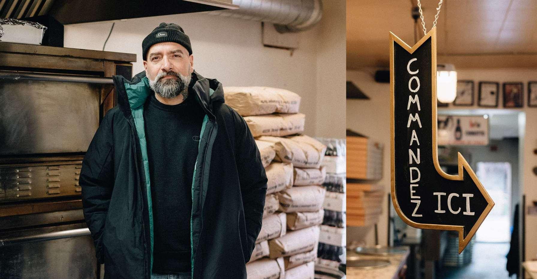Tony Campanelli—warmth and the cool factor at Pizzeria Adamo.