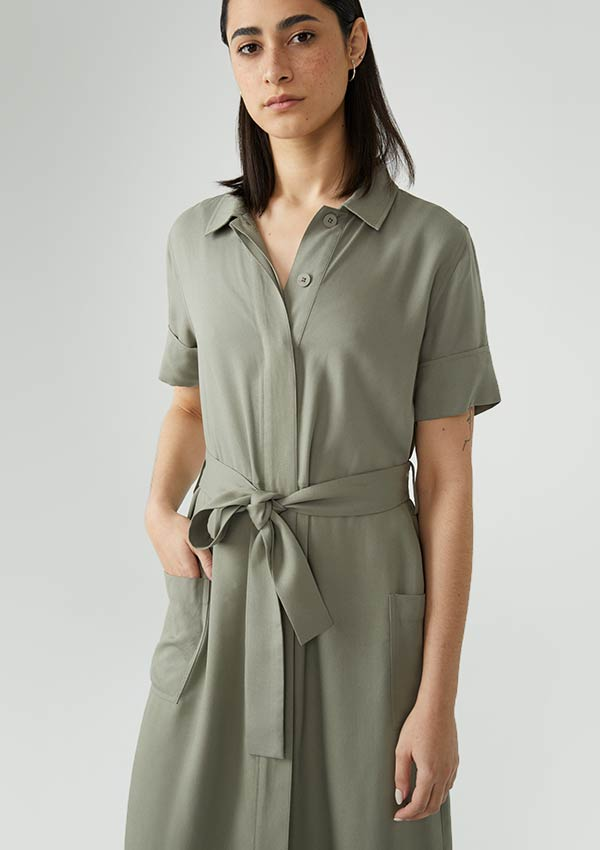 The Ginza Dress: Japanese influenced, Montreal designed